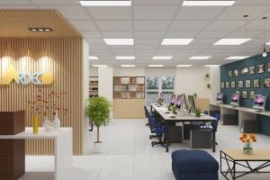 Thiết kế nội thất văn phòng chuyên nghiệp tại Hà Nội